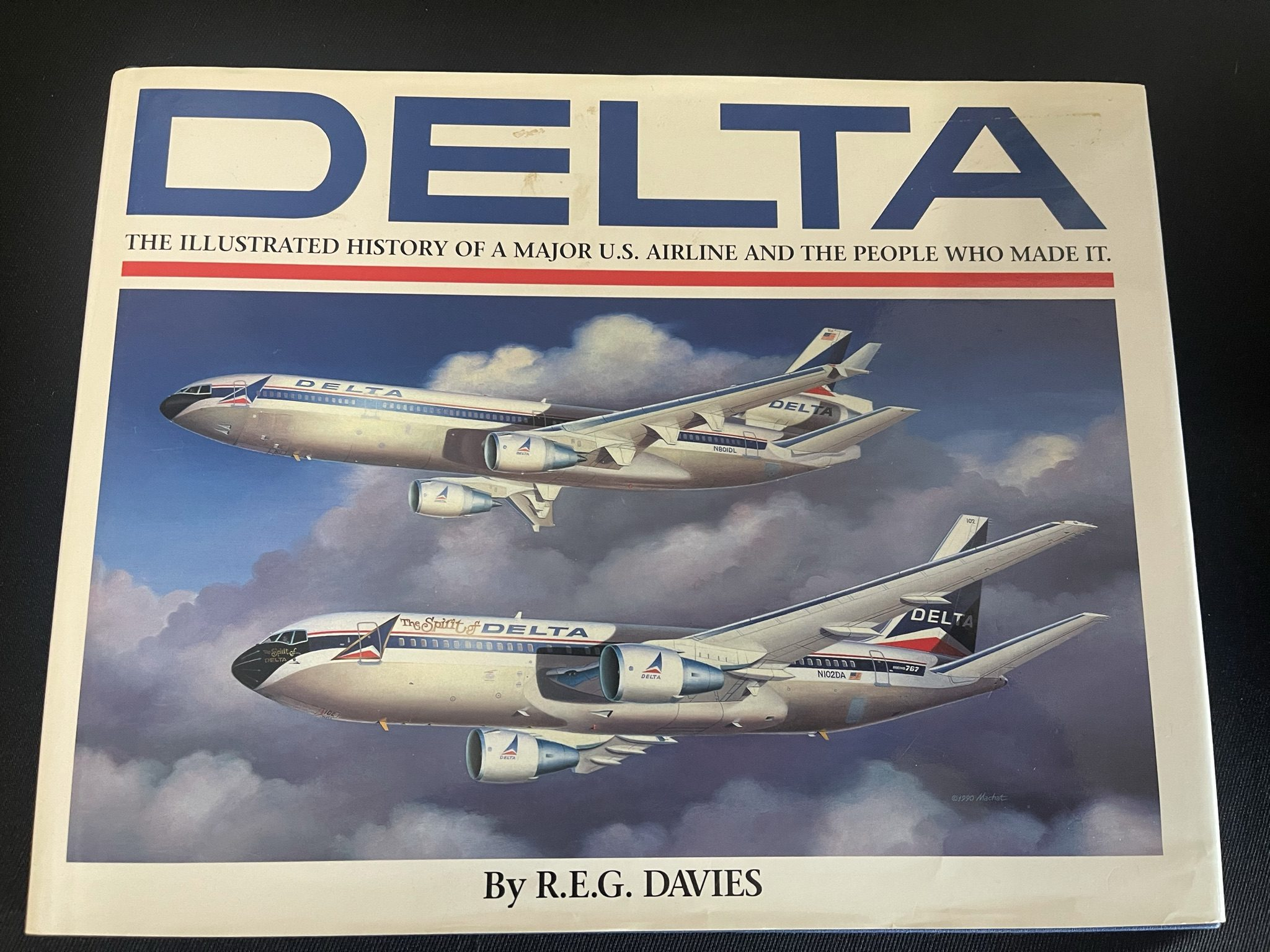 "Featured image for ""Delta: An Airline & Its Aircraft"""